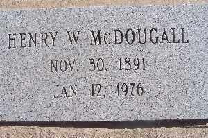 MCDOUGAL, HENRY W - Mohave County, Arizona | HENRY W MCDOUGAL - Arizona Gravestone Photos