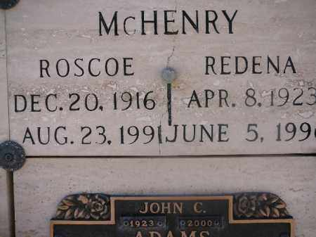 MCHENRY, REDENA - Mohave County, Arizona | REDENA MCHENRY - Arizona Gravestone Photos