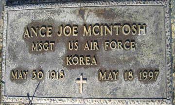 MCINTOSH, ANCE JOE - Mohave County, Arizona | ANCE JOE MCINTOSH - Arizona Gravestone Photos