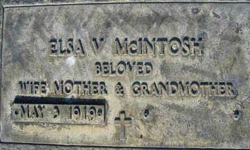 MCINTOSH, ELSA V - Mohave County, Arizona | ELSA V MCINTOSH - Arizona Gravestone Photos