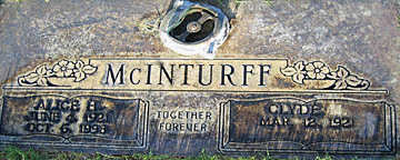 MCINTURFF, CLYDE - Mohave County, Arizona | CLYDE MCINTURFF - Arizona Gravestone Photos