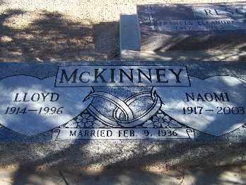 MCKINNEY, LLOYD - Mohave County, Arizona | LLOYD MCKINNEY - Arizona Gravestone Photos