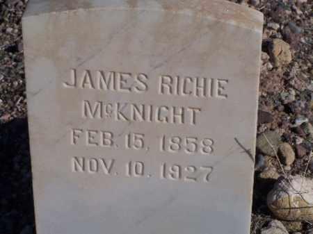 MCKNIGHT, JAMES RICHIE - Mohave County, Arizona | JAMES RICHIE MCKNIGHT - Arizona Gravestone Photos