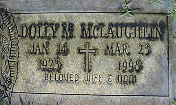 MCLAUGHLIN, DOLLY M - Mohave County, Arizona | DOLLY M MCLAUGHLIN - Arizona Gravestone Photos