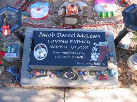 MCLEAN, JACOB DANIEL - Mohave County, Arizona | JACOB DANIEL MCLEAN - Arizona Gravestone Photos