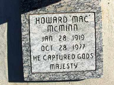 MCMINN, HOWARD - Mohave County, Arizona | HOWARD MCMINN - Arizona Gravestone Photos