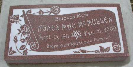 MCMULLEN, AGNES MAE - Mohave County, Arizona | AGNES MAE MCMULLEN - Arizona Gravestone Photos