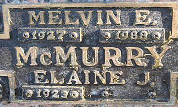 MCMURRY, ELAINE J - Mohave County, Arizona | ELAINE J MCMURRY - Arizona Gravestone Photos