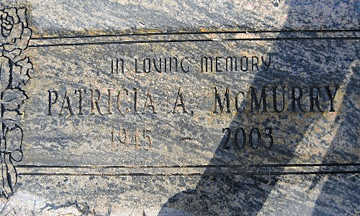 MCMURRY, PATRICIA A - Mohave County, Arizona   PATRICIA A MCMURRY - Arizona Gravestone Photos