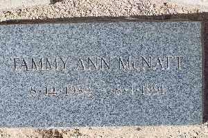 MCNATT, TAMMY ANN - Mohave County, Arizona | TAMMY ANN MCNATT - Arizona Gravestone Photos