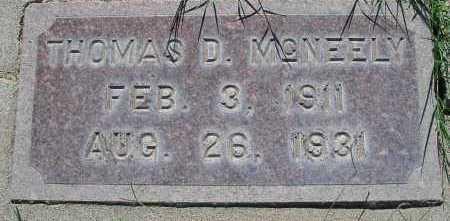 MCNEELY, THOMAS D. - Mohave County, Arizona   THOMAS D. MCNEELY - Arizona Gravestone Photos