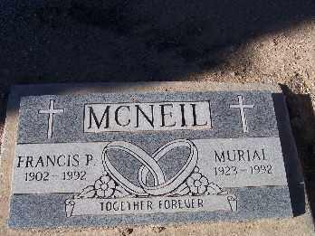 MCNEIL, FRANCIS P. - Mohave County, Arizona | FRANCIS P. MCNEIL - Arizona Gravestone Photos