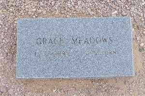 MEADOWS, GRACE - Mohave County, Arizona | GRACE MEADOWS - Arizona Gravestone Photos