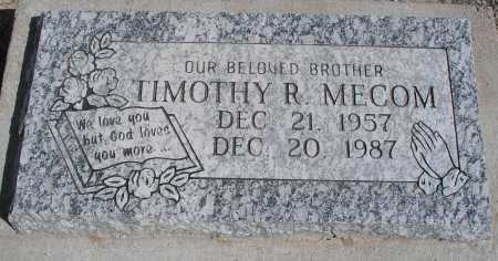 MECOM, TIMOTHY R. - Mohave County, Arizona | TIMOTHY R. MECOM - Arizona Gravestone Photos
