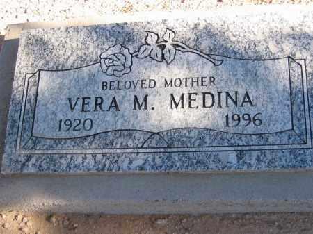 MEDINA, VERA M. - Mohave County, Arizona | VERA M. MEDINA - Arizona Gravestone Photos
