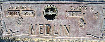 MEDLIN, CHARLES L - Mohave County, Arizona | CHARLES L MEDLIN - Arizona Gravestone Photos