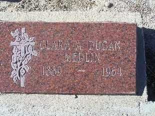 MEDLIN, CLARA A - Mohave County, Arizona | CLARA A MEDLIN - Arizona Gravestone Photos