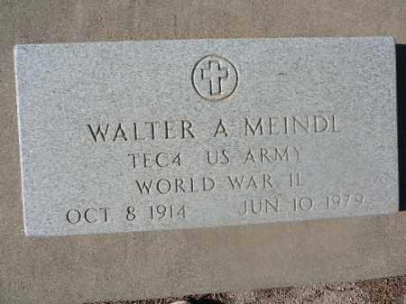 MEINDL, WALTER A - Mohave County, Arizona | WALTER A MEINDL - Arizona Gravestone Photos