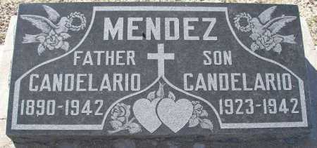 MENDEZ, SR., CANDELARIO - Mohave County, Arizona | CANDELARIO MENDEZ, SR. - Arizona Gravestone Photos