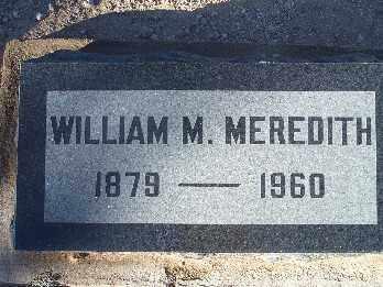 MEREDITH, WILLIAM M. - Mohave County, Arizona | WILLIAM M. MEREDITH - Arizona Gravestone Photos