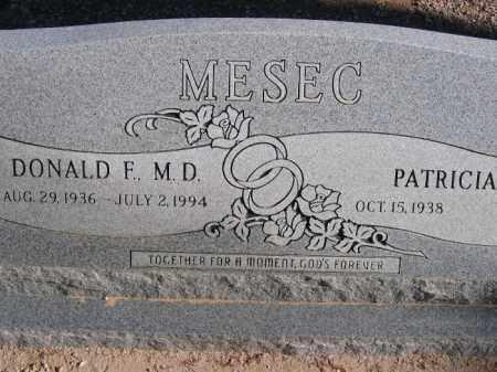 MESEC, PATRICIA - Mohave County, Arizona | PATRICIA MESEC - Arizona Gravestone Photos