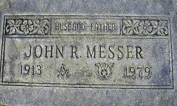 MESSER, JOHN RICHARD - Mohave County, Arizona | JOHN RICHARD MESSER - Arizona Gravestone Photos