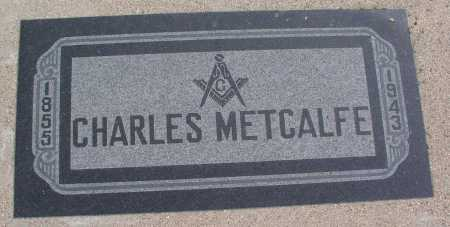 METCALFE, CHARLES - Mohave County, Arizona | CHARLES METCALFE - Arizona Gravestone Photos