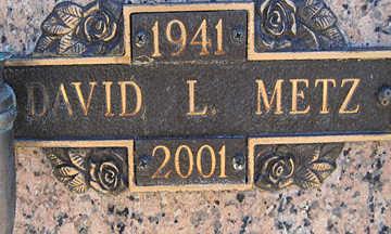 METZ, DAVID L - Mohave County, Arizona   DAVID L METZ - Arizona Gravestone Photos