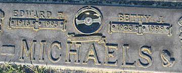 MICHAELS, BETTY J - Mohave County, Arizona | BETTY J MICHAELS - Arizona Gravestone Photos