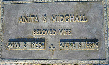 MIDGHALL, ANITA S - Mohave County, Arizona | ANITA S MIDGHALL - Arizona Gravestone Photos