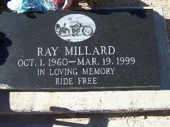 MILLARD, RAY - Mohave County, Arizona   RAY MILLARD - Arizona Gravestone Photos