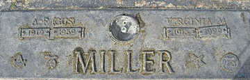MILLER, VIRGINIA M - Mohave County, Arizona   VIRGINIA M MILLER - Arizona Gravestone Photos
