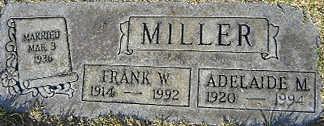 MILLER, FRANK W - Mohave County, Arizona | FRANK W MILLER - Arizona Gravestone Photos