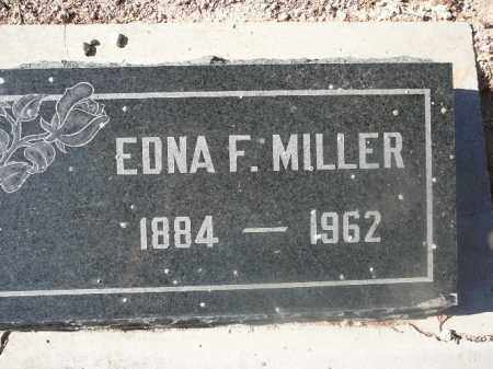 MILLER, EDNA F - Mohave County, Arizona   EDNA F MILLER - Arizona Gravestone Photos