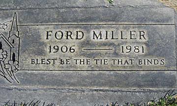 MILLER, FORD - Mohave County, Arizona | FORD MILLER - Arizona Gravestone Photos