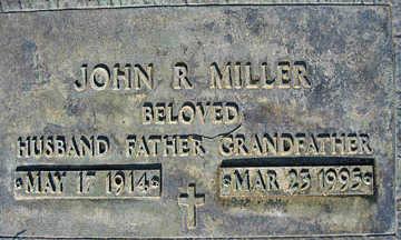 MILLER, JOHN R - Mohave County, Arizona | JOHN R MILLER - Arizona Gravestone Photos