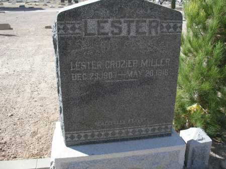 MILLER, LESTER GROZIER - Mohave County, Arizona   LESTER GROZIER MILLER - Arizona Gravestone Photos