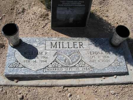 MILLER, WILLIAM P. - Mohave County, Arizona   WILLIAM P. MILLER - Arizona Gravestone Photos