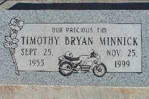 MINNICK, TIMOTHY BRYAN - Mohave County, Arizona   TIMOTHY BRYAN MINNICK - Arizona Gravestone Photos