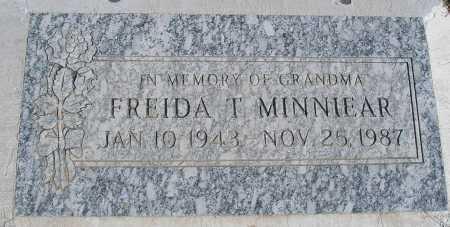 MINNIEAR, FREIDA T. - Mohave County, Arizona   FREIDA T. MINNIEAR - Arizona Gravestone Photos