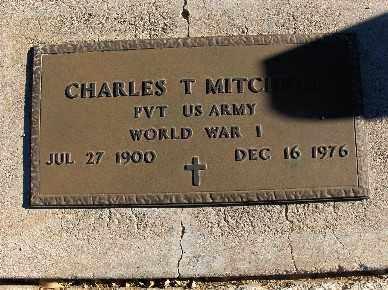 MITCHELL, CHARLES T. - Mohave County, Arizona | CHARLES T. MITCHELL - Arizona Gravestone Photos