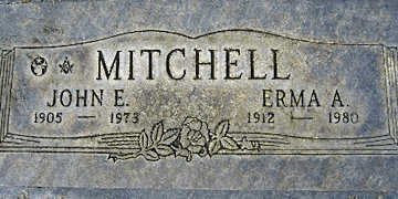 MITCHELL, ERMA ANNARA - Mohave County, Arizona   ERMA ANNARA MITCHELL - Arizona Gravestone Photos