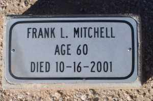 MITCHELL, FRANK L - Mohave County, Arizona | FRANK L MITCHELL - Arizona Gravestone Photos