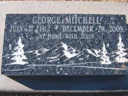 MITCHELL, GEORGE - Mohave County, Arizona | GEORGE MITCHELL - Arizona Gravestone Photos