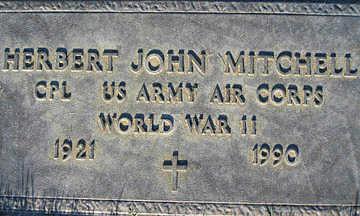 MITCHELL, HERBERT JOHN - Mohave County, Arizona | HERBERT JOHN MITCHELL - Arizona Gravestone Photos