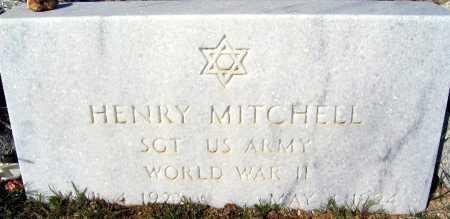 MITCHELL, HENRY - Mohave County, Arizona | HENRY MITCHELL - Arizona Gravestone Photos