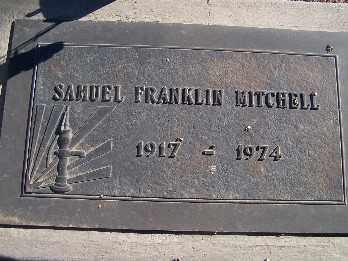 MITCHELL, SAMUEL FRANKLIN - Mohave County, Arizona | SAMUEL FRANKLIN MITCHELL - Arizona Gravestone Photos