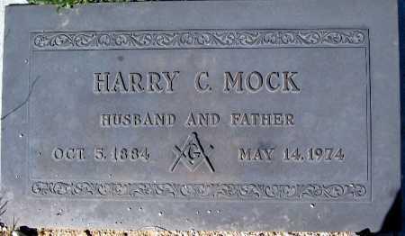 MOCK, HARRY C - Mohave County, Arizona | HARRY C MOCK - Arizona Gravestone Photos