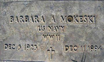 MOKESKI, BARBARA A - Mohave County, Arizona   BARBARA A MOKESKI - Arizona Gravestone Photos