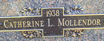 MOLLENDOR, CATHERINE L - Mohave County, Arizona | CATHERINE L MOLLENDOR - Arizona Gravestone Photos
